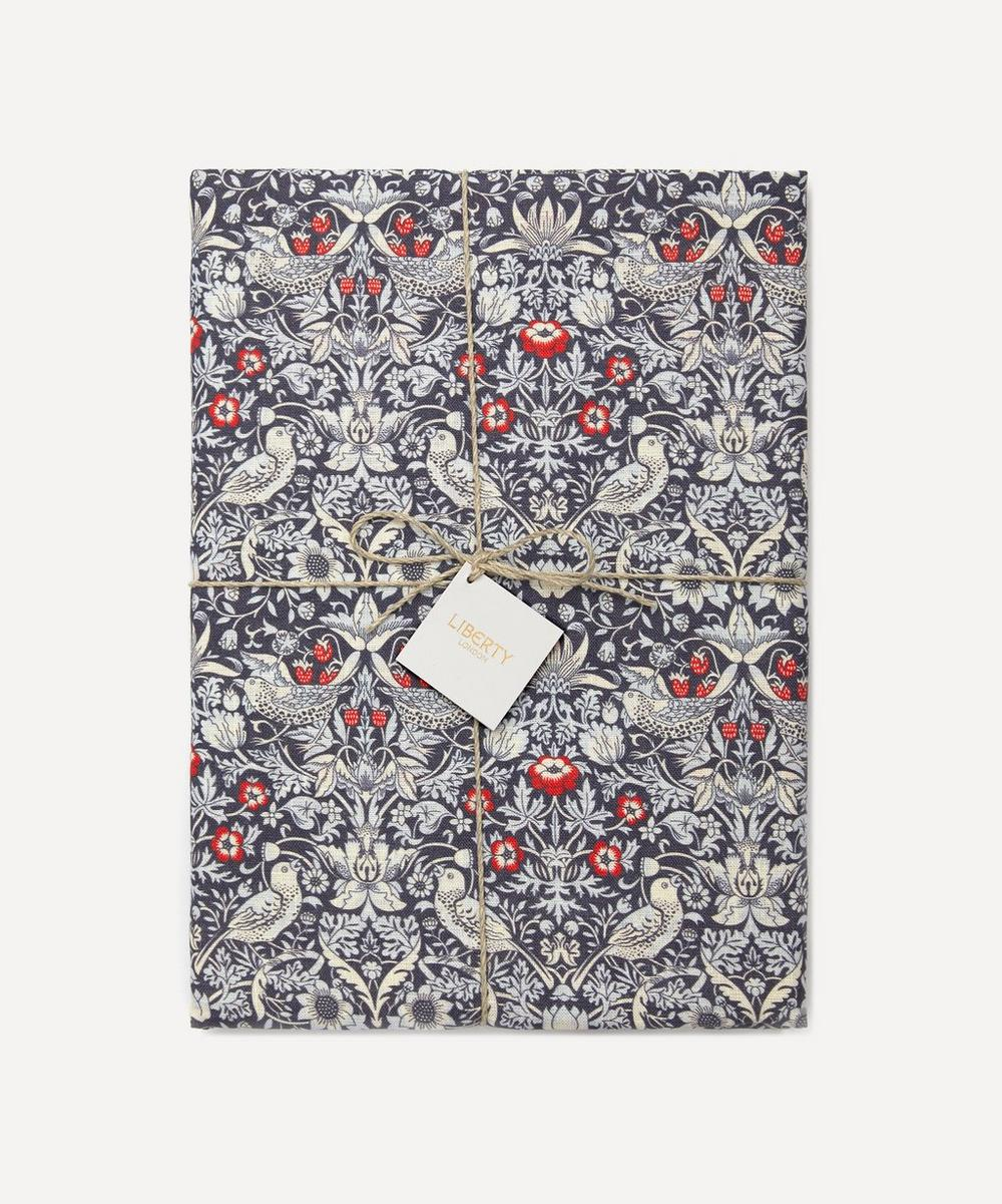 Liberty - Strawberry Thief Linen Tablecloth