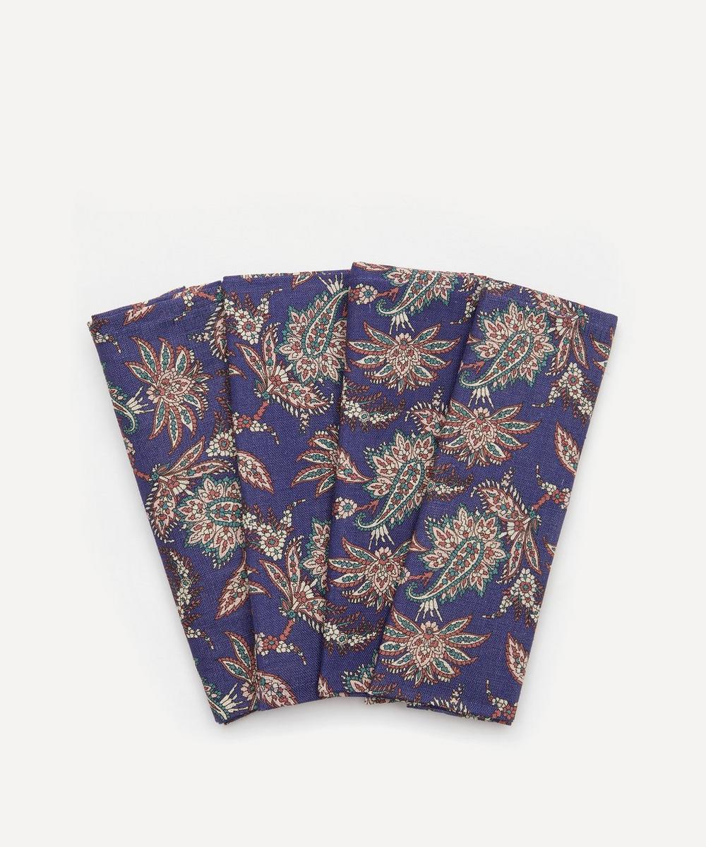 Liberty - Leontine Linen Napkins Set of Four
