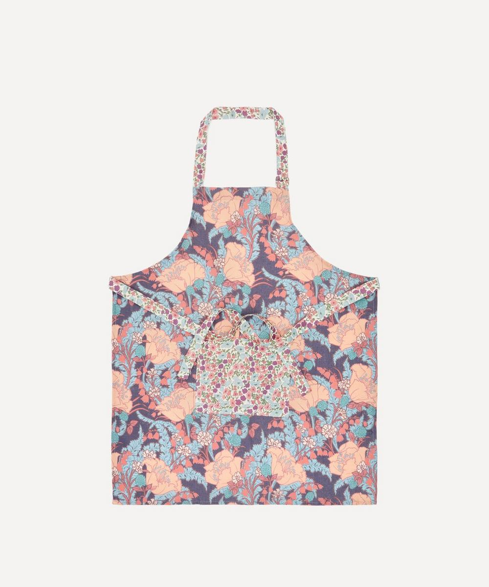 Liberty - June and Poppy and Daisy Linen Apron
