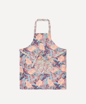 June and Poppy and Daisy Linen Apron