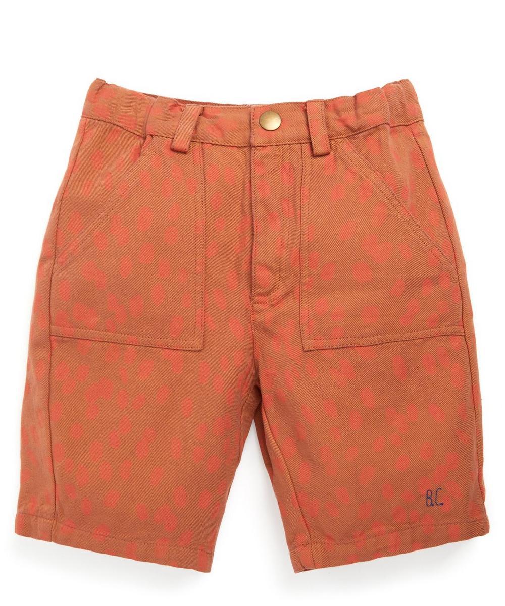 Bobo Choses - Animal Print Bermuda Shorts 2-8 Years