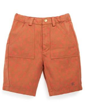 Animal Print Bermuda Shorts 2-8 Years