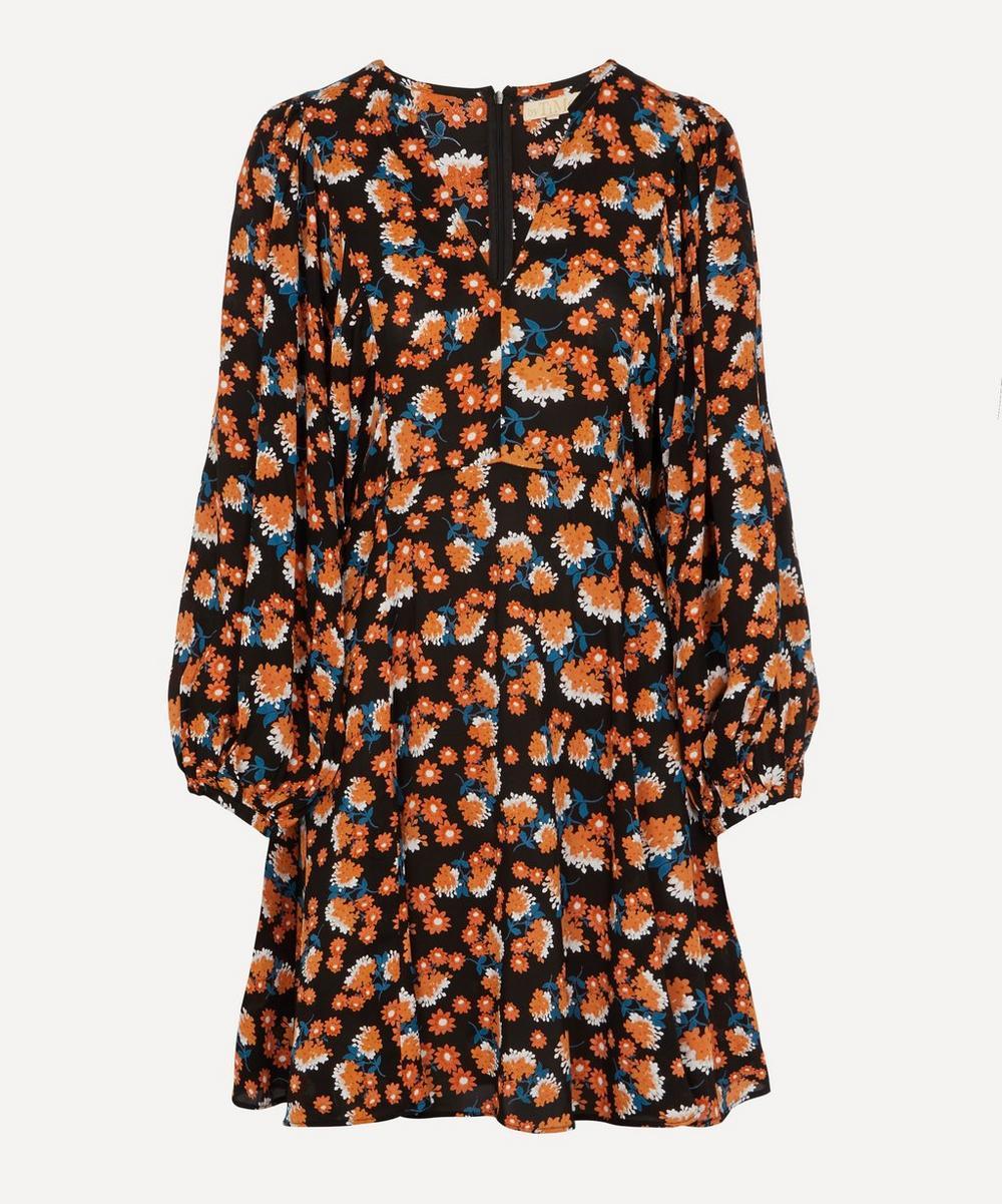 byTiMo - Vintage Drape Mini-Dress