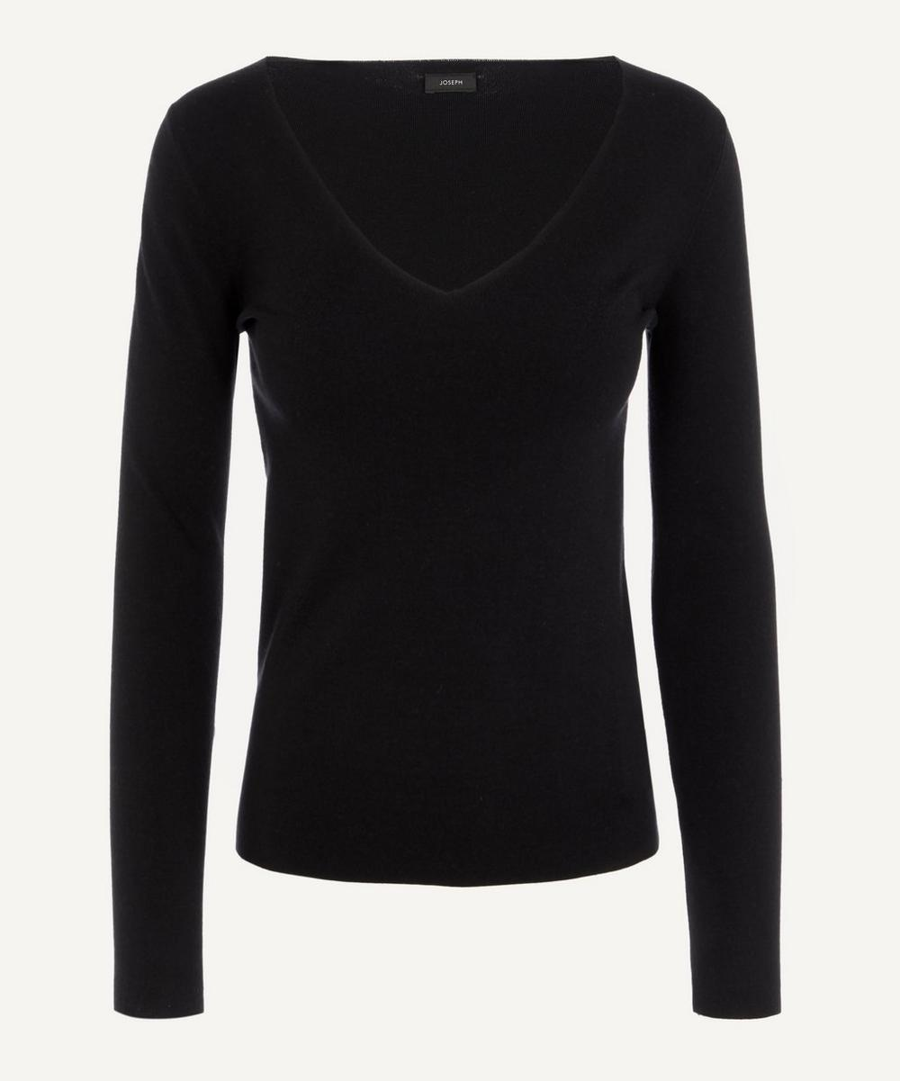 Joseph - V-Neck Silk Knit