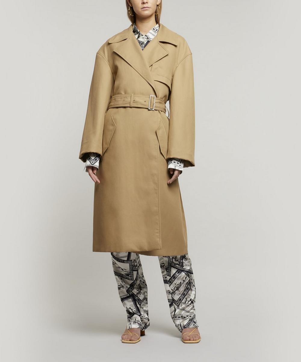 Joseph - Lewis Cotton-Linen Trench Coat