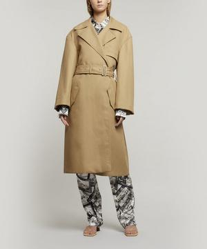 Lewis Cotton-Linen Trench Coat