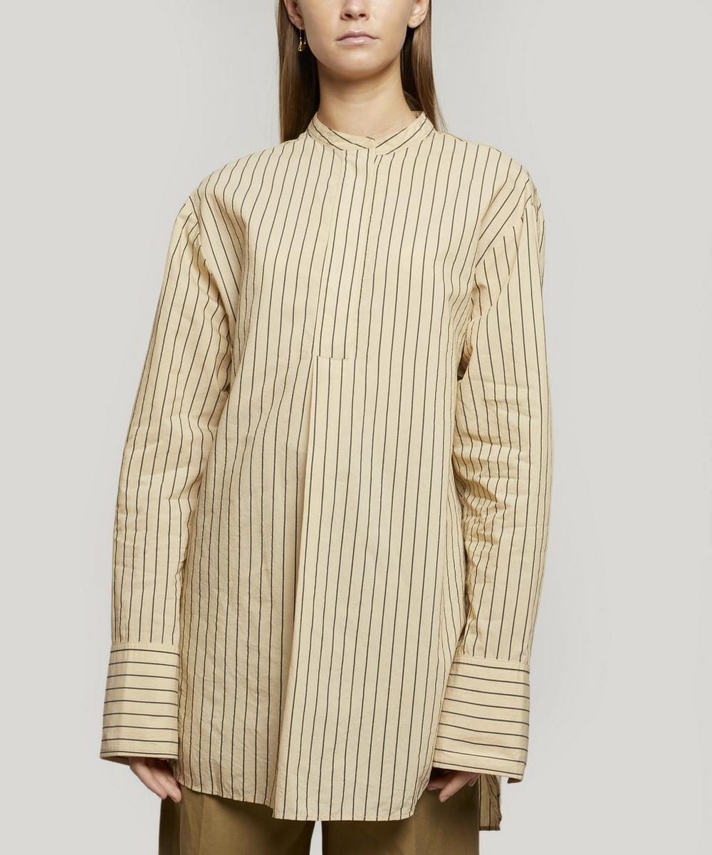Joseph - Aufray Collarless Silk Shirt