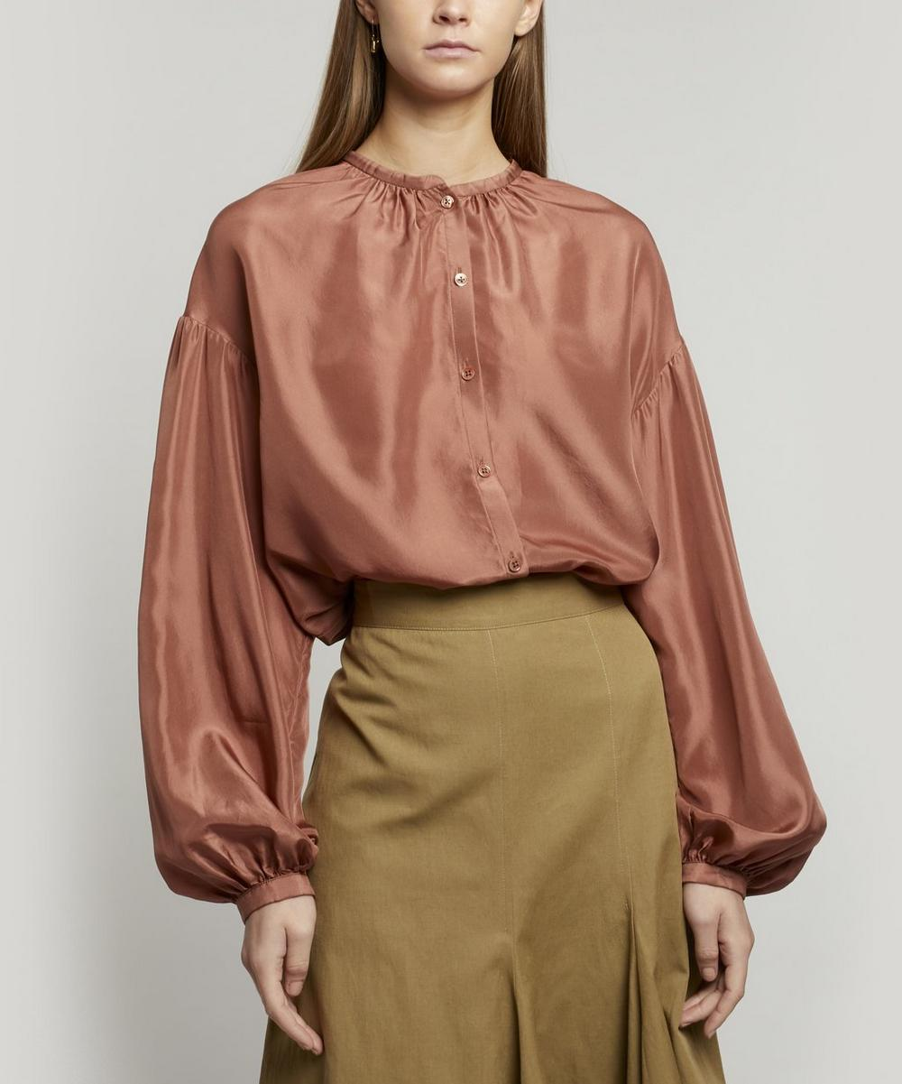 Joseph - Bowell Gathered Silk Blouse