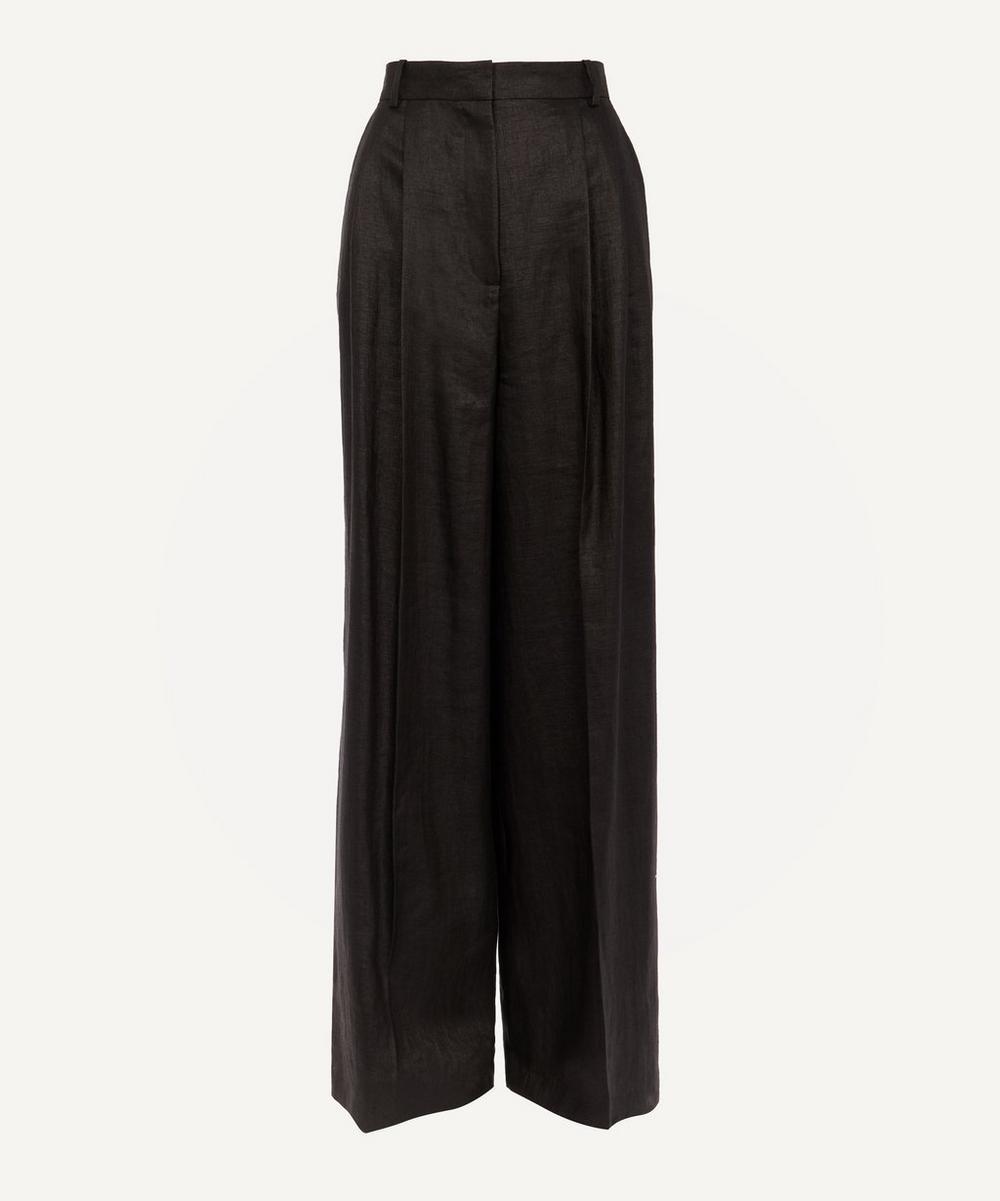 Joseph - Benton Wide-Leg Linen-Blend Trousers
