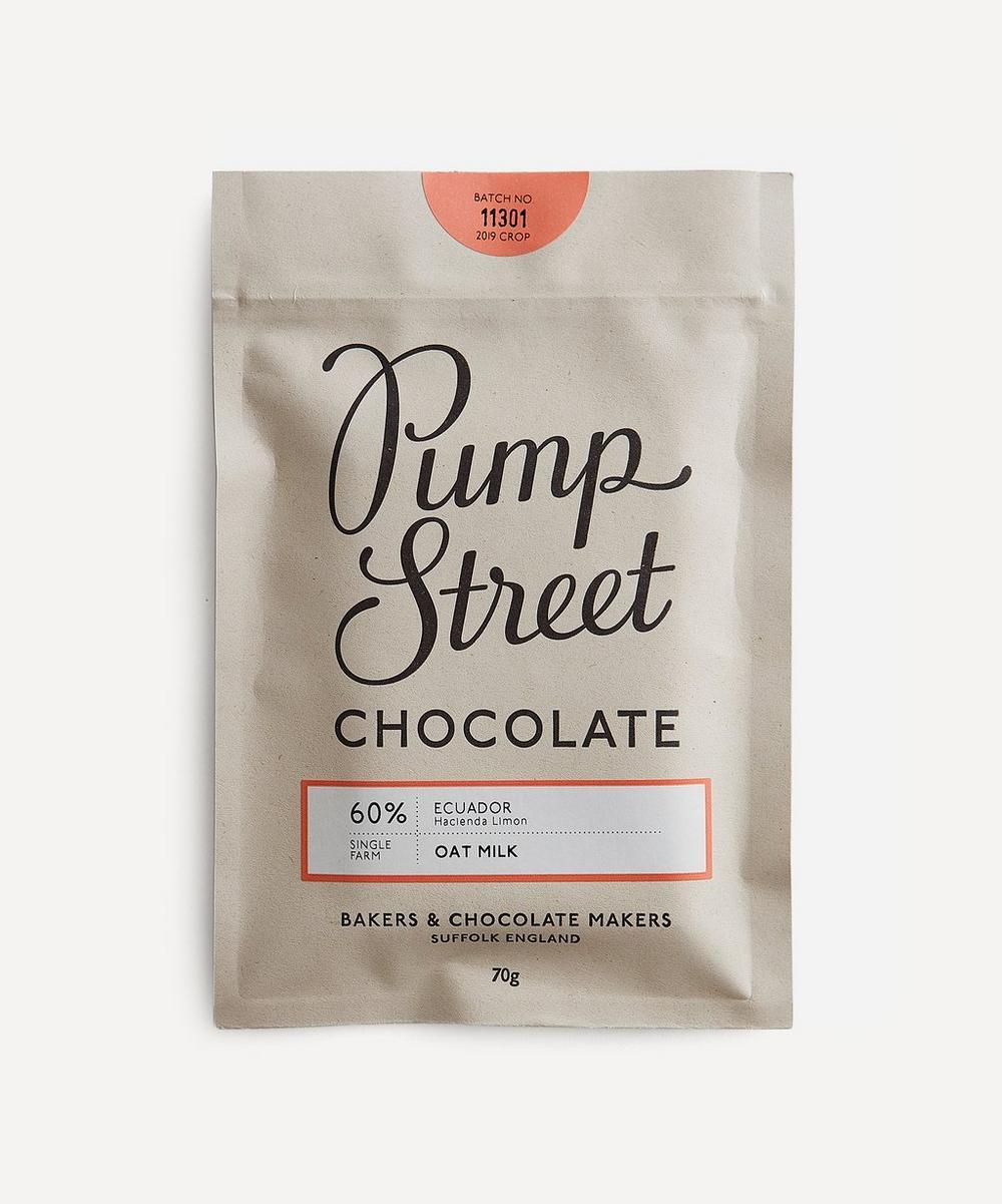 Pump Street Bakery - Oat Milk 60% Chocolate Bar 70g