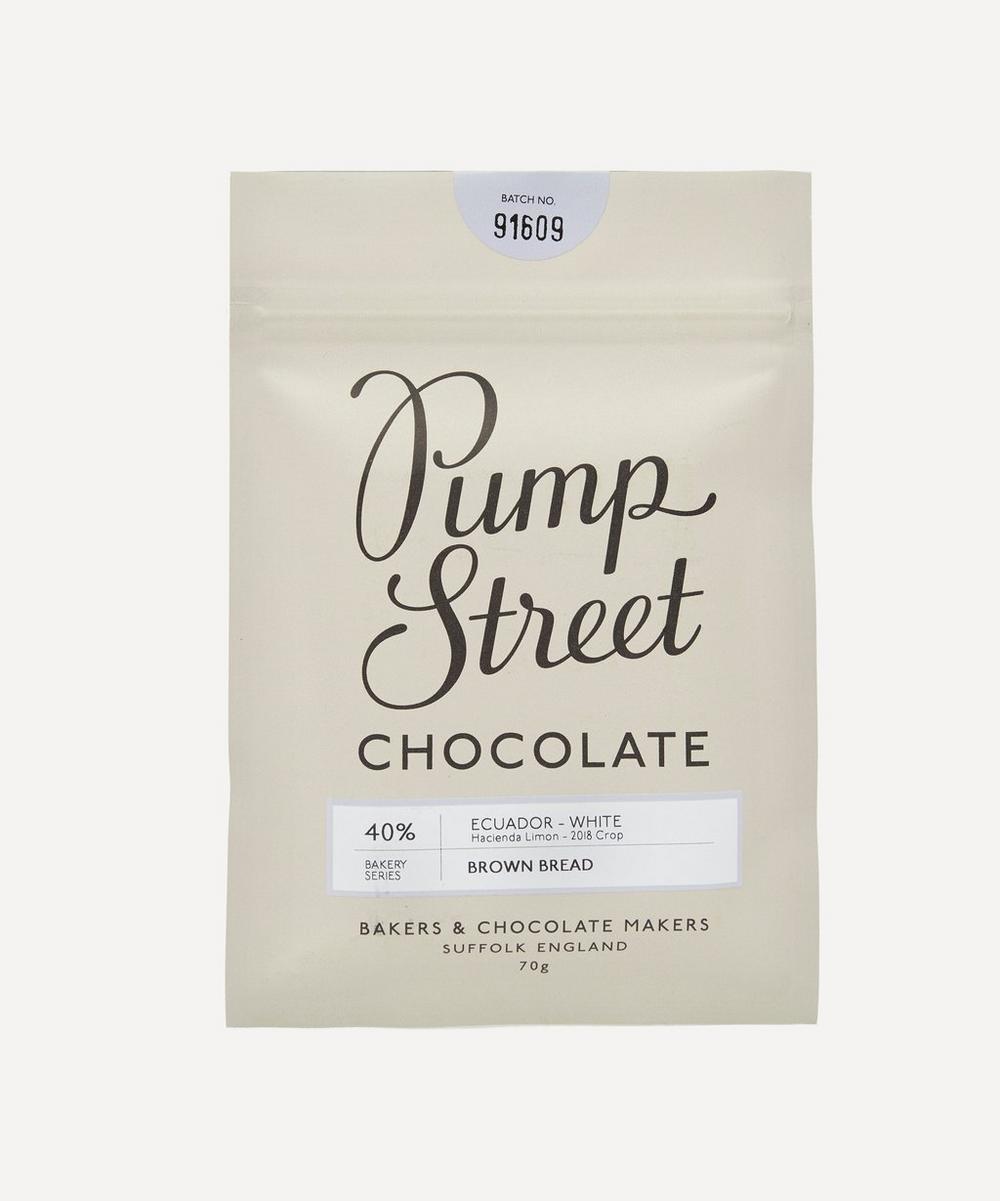Pump Street Bakery - Brown Bread Chocolate Bar 70g