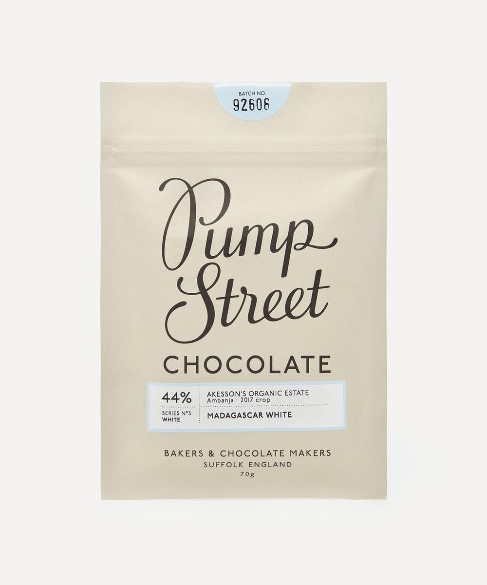 Pump Street Bakery - Madagascar White 44% Chocolate Bar 70g