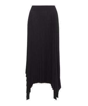 Ade Pleated Asymmetric Skirt