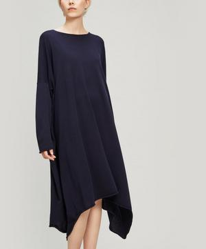 Bateau-Neck Cashmere Dress