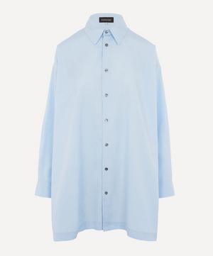 Slim A-Line Cotton Shirt