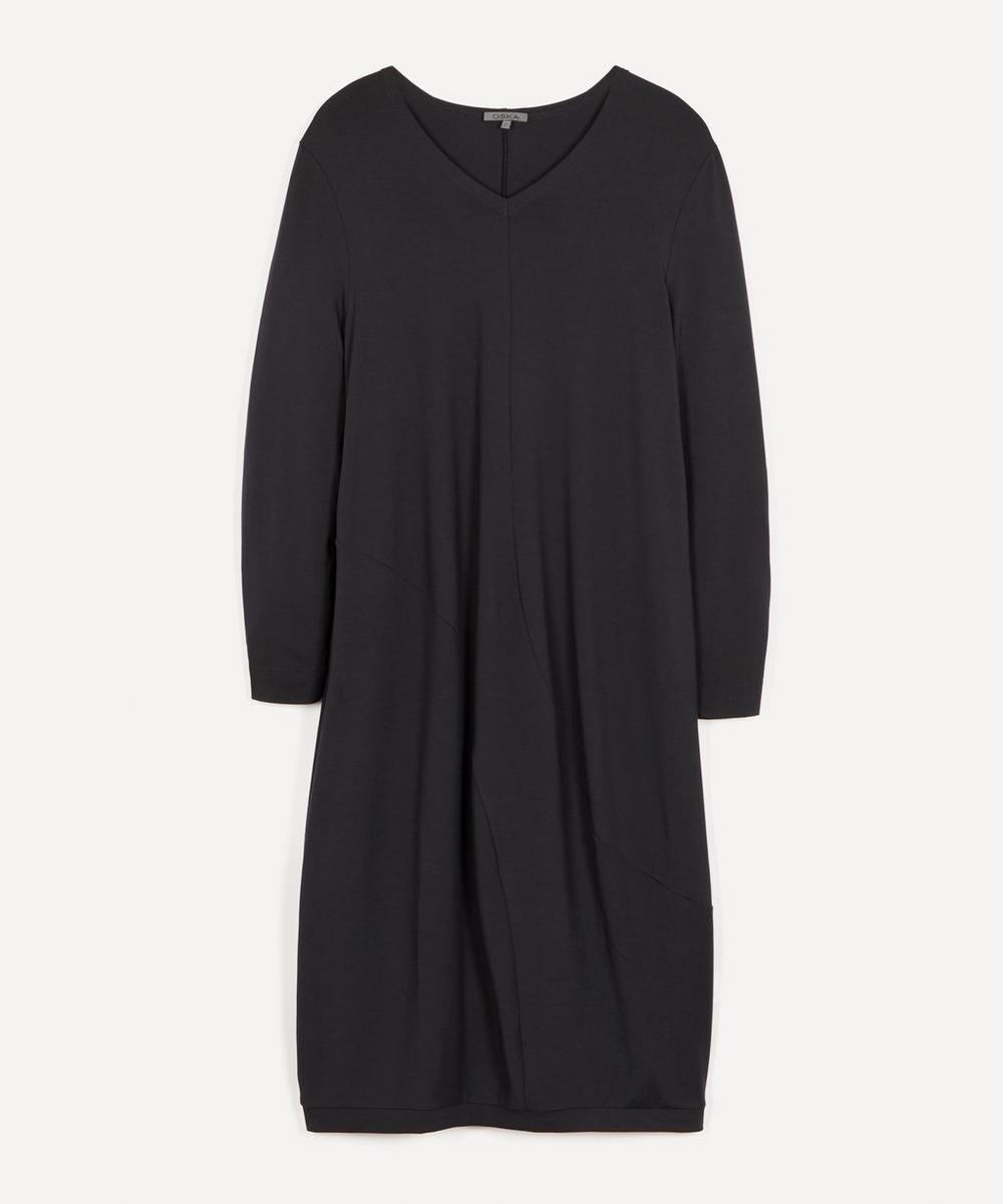 Oska - Dag Tie Neck Linen Dress