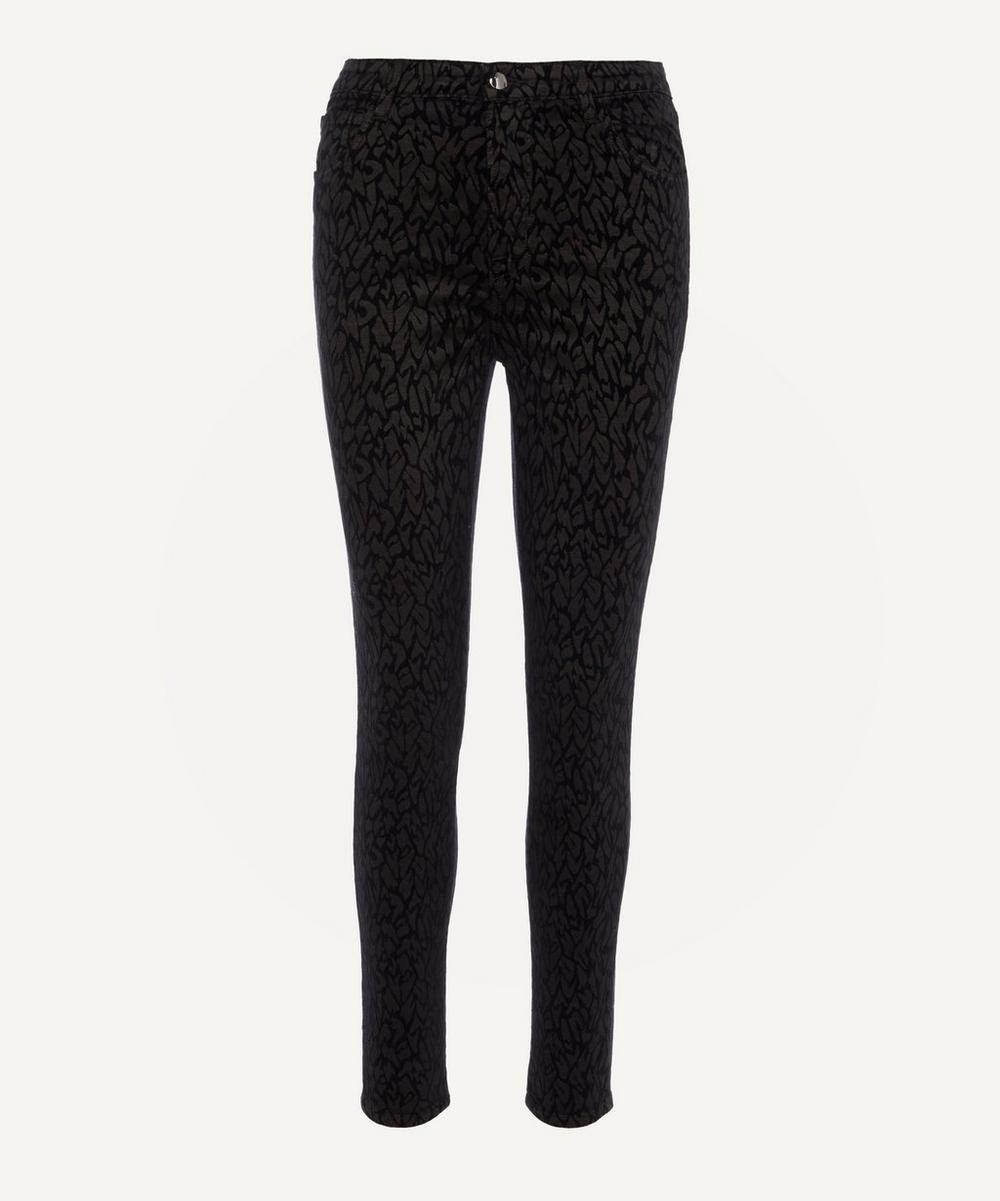 J Brand - Leenah Super High-Rise Ankle Skinny Jeans