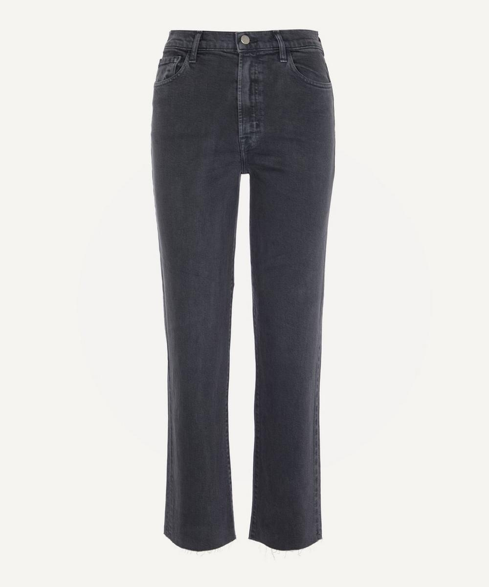 J Brand - Jules High-Rise Straight Jeans