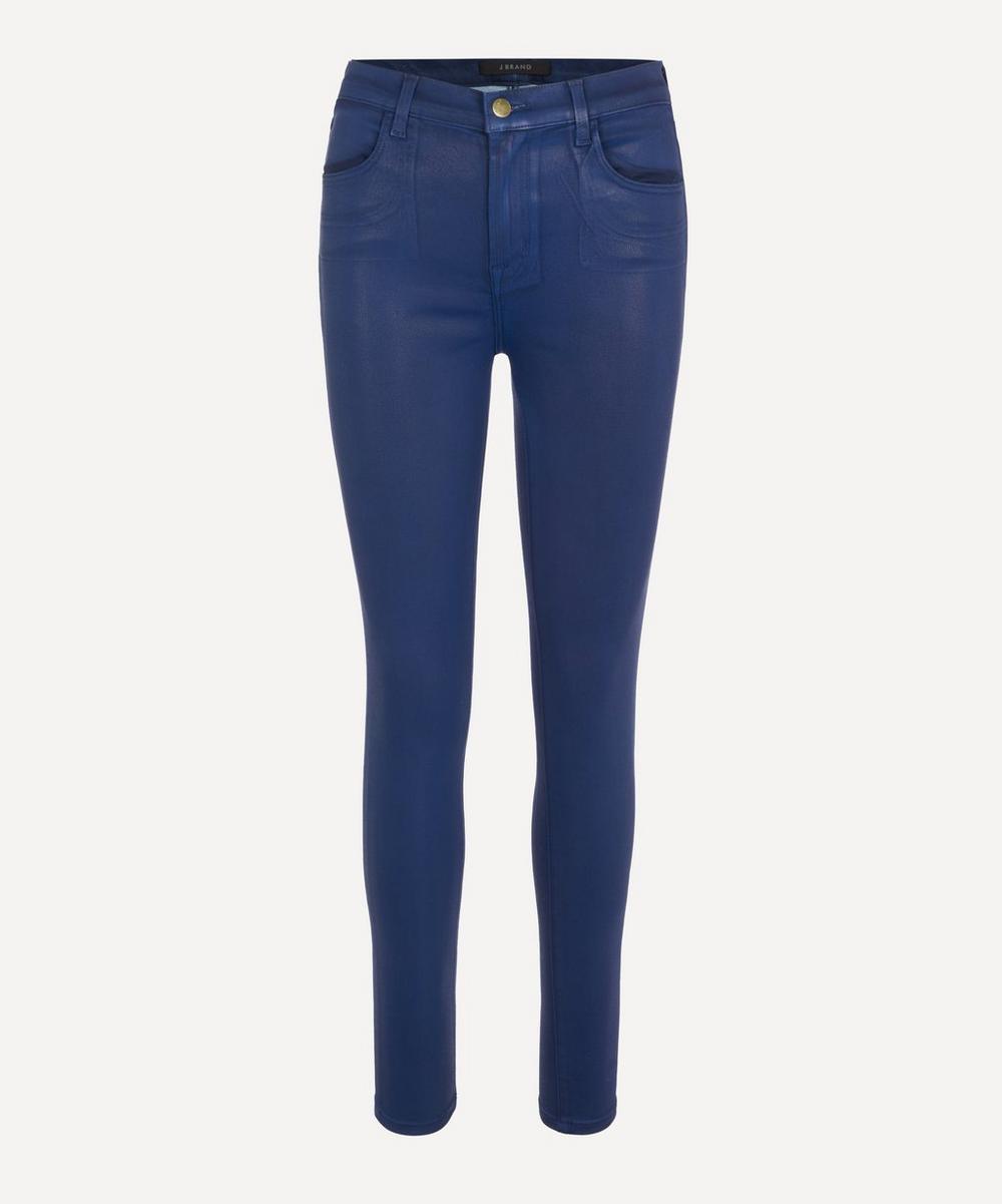 J Brand - Maria High-Rise Sateen Super Skinny Jeans