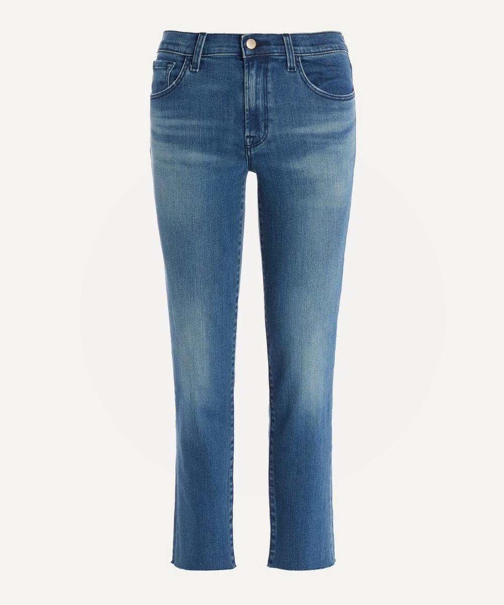 J Brand - Adele Mid-Rise Straight Leg Jeans