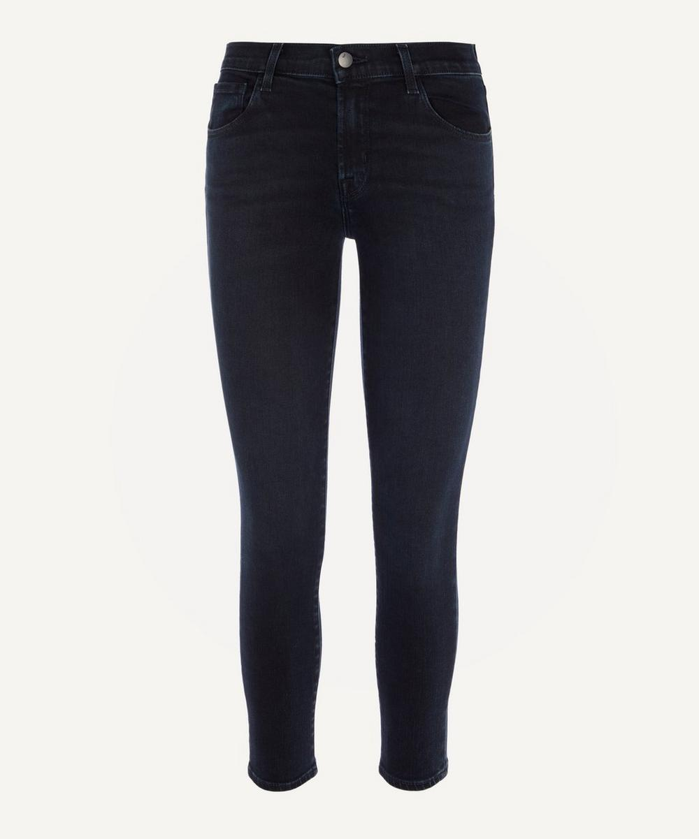 J Brand - 835 Mid-Rise Cropped Skinny Jeans