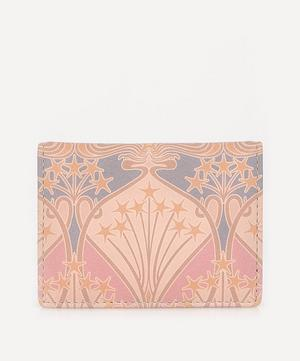 Bonnie Printed Leather Travel Card Holder