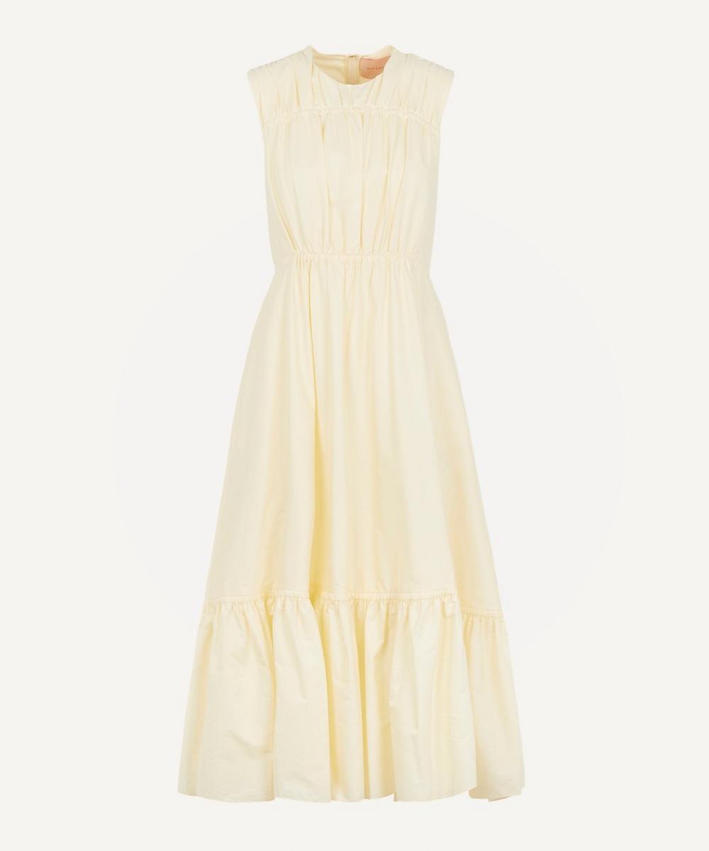 Roksanda - Lucia Tiered Cotton-Poplin Dress