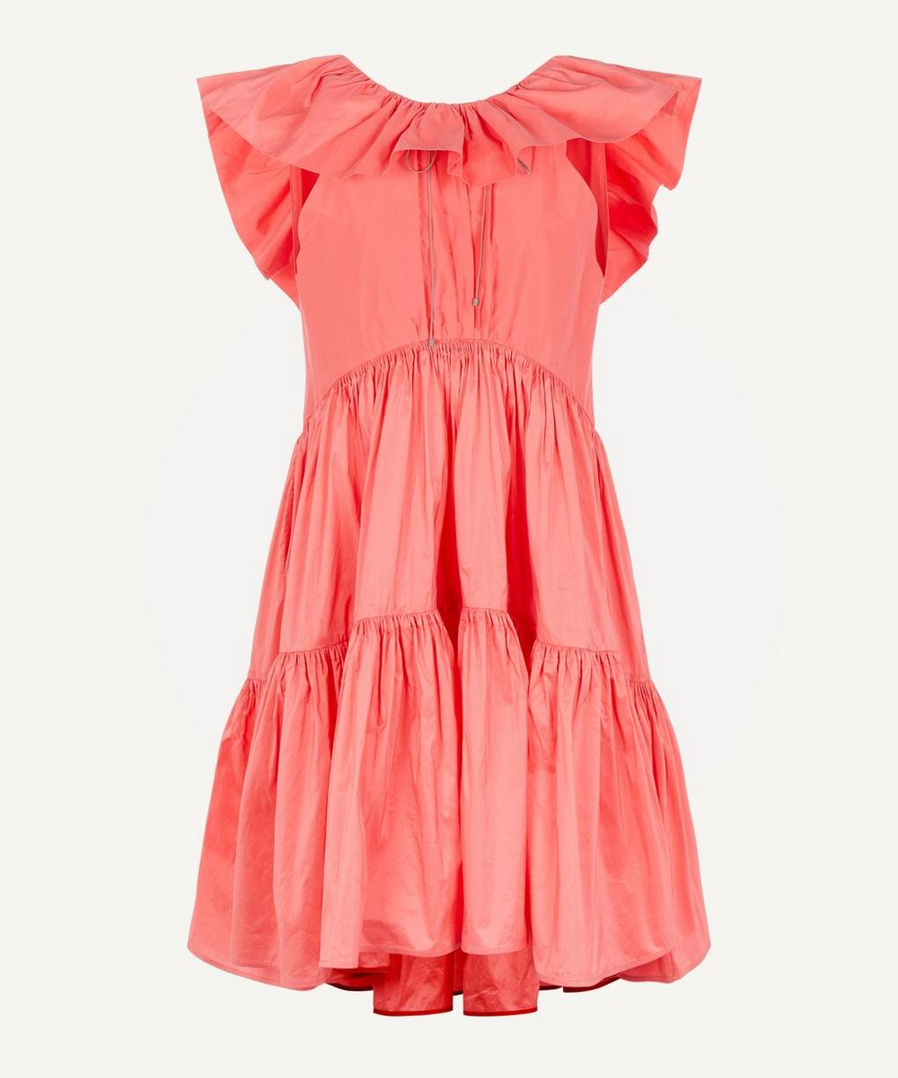 Roksanda - Alessa Tiered Large Collar Dress