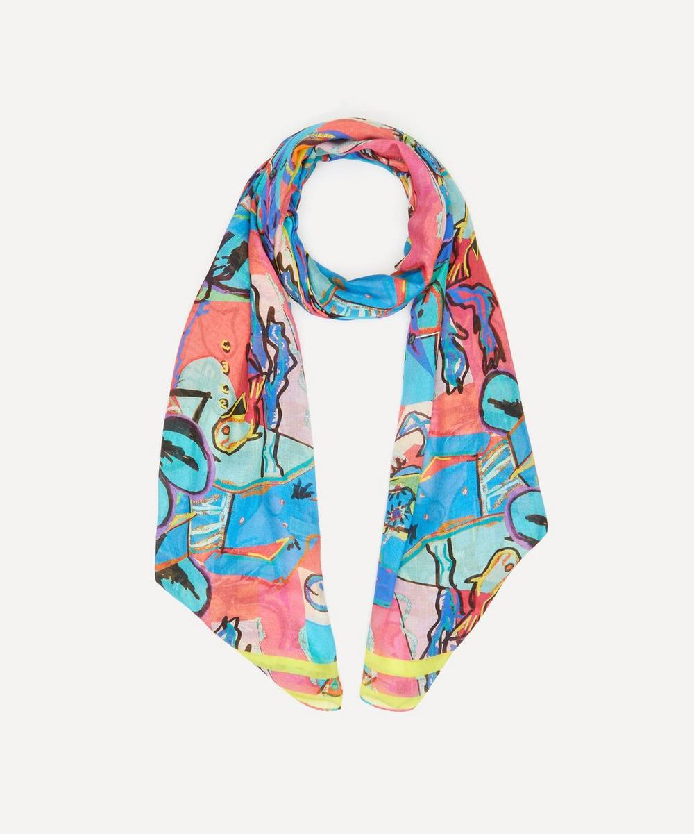 Paul Smith - Swim Collage Modal-Blend Scarf