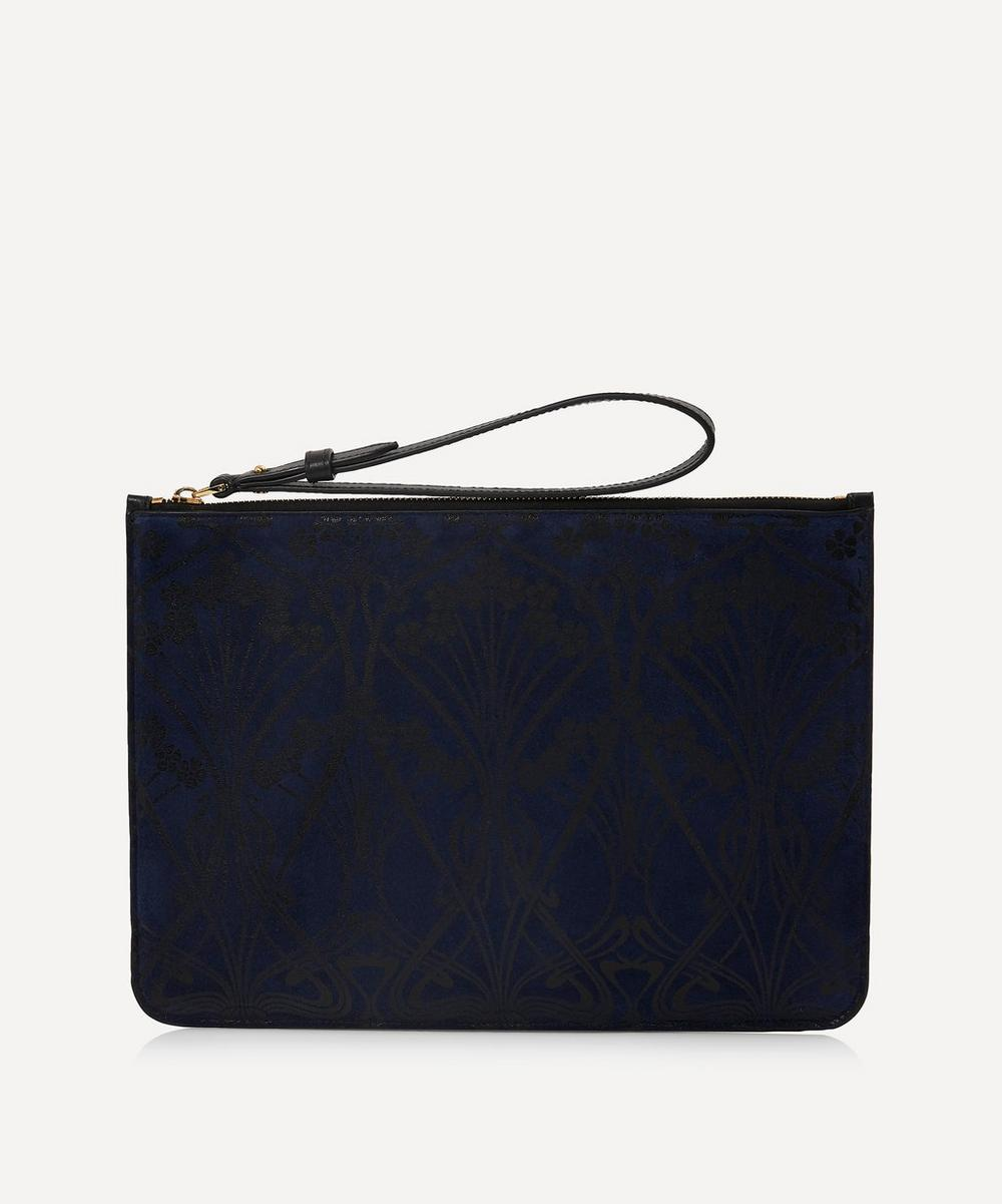 Liberty - Ianthe Suede Clutch Pouch