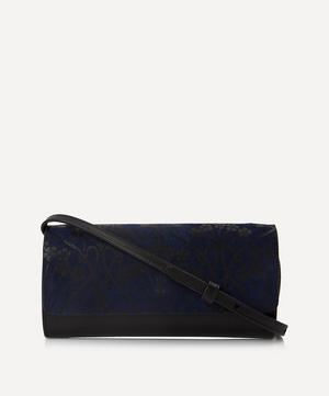 Ianthe Suede Soho Cross-Body Clutch