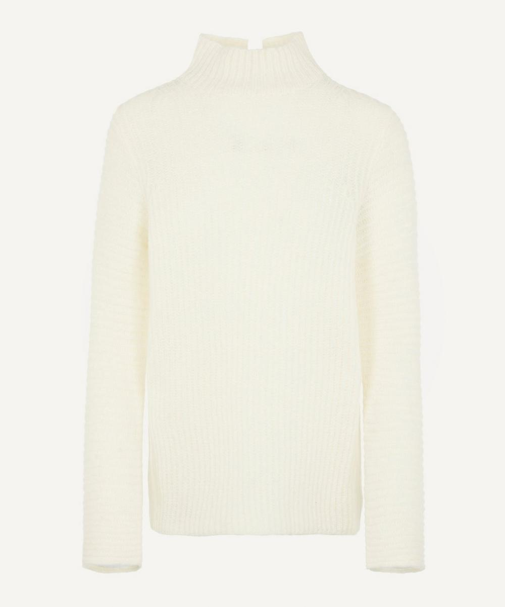 Helmut Lang - Ribbed High-neck Knit