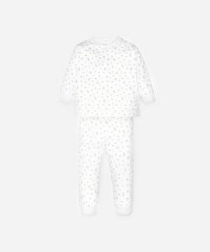 Garden Roses Long-Sleeved Pyjama Set 2-6 Years