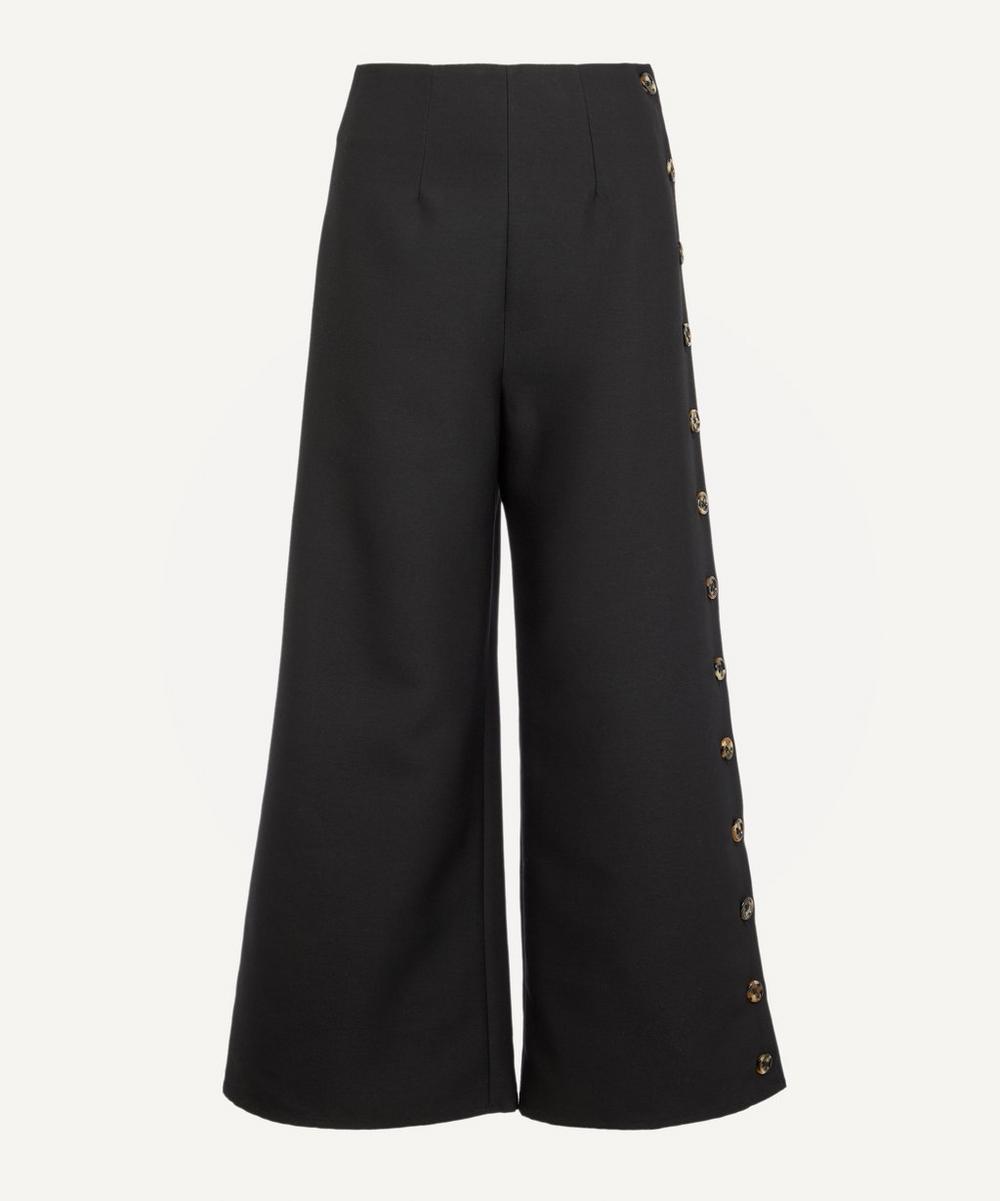 A.W.A.K.E. - Buttoned Wide-Leg Trousers