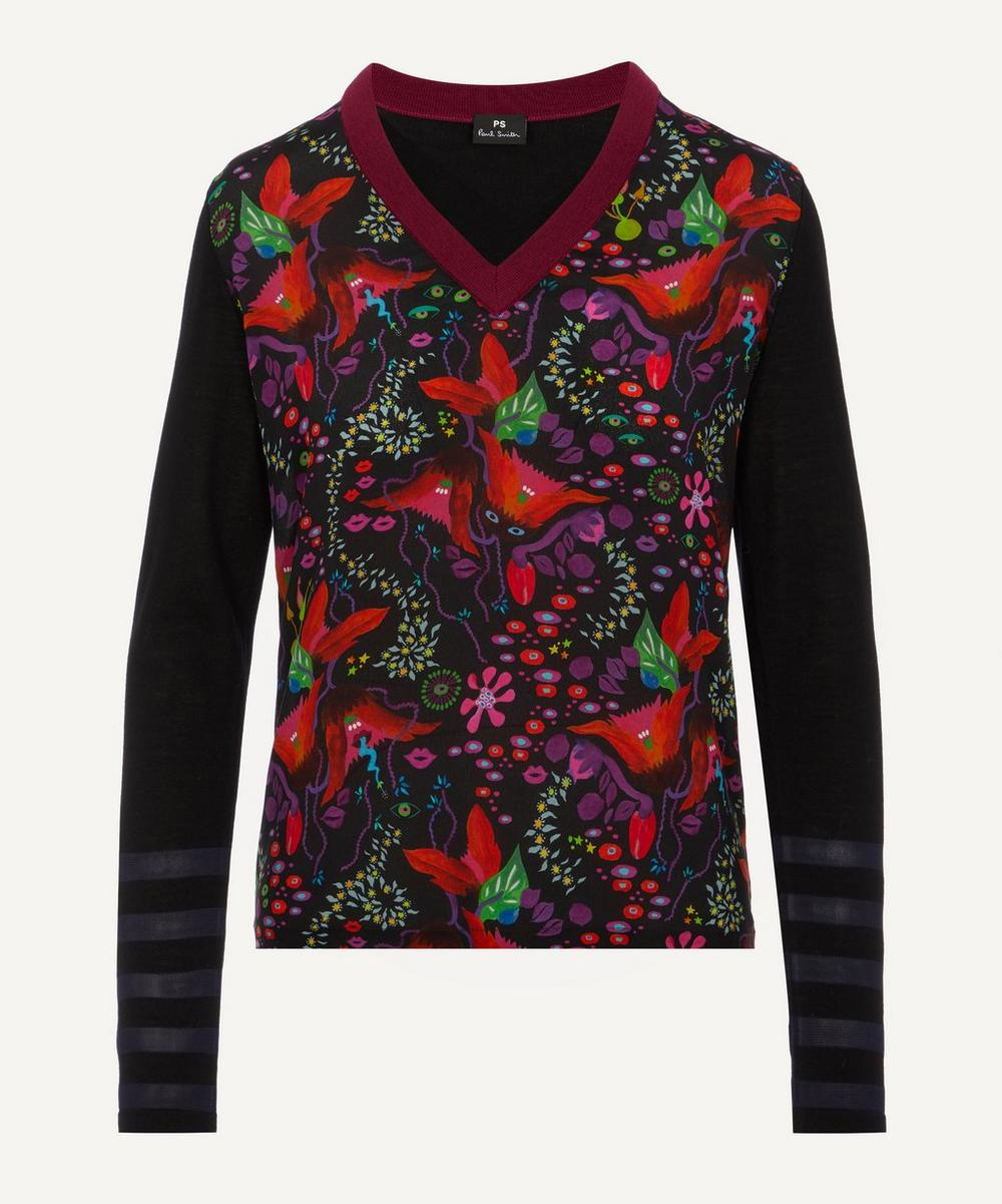 PS Paul Smith - Earthling Floral Jumper