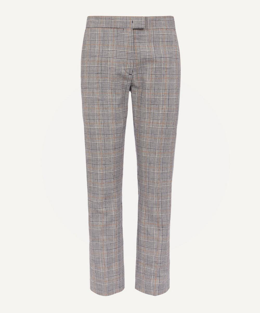 PS Paul Smith - Check Cotton-Blend Trousers