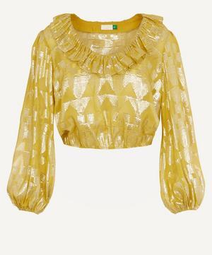 Joanna Gold Foil Top