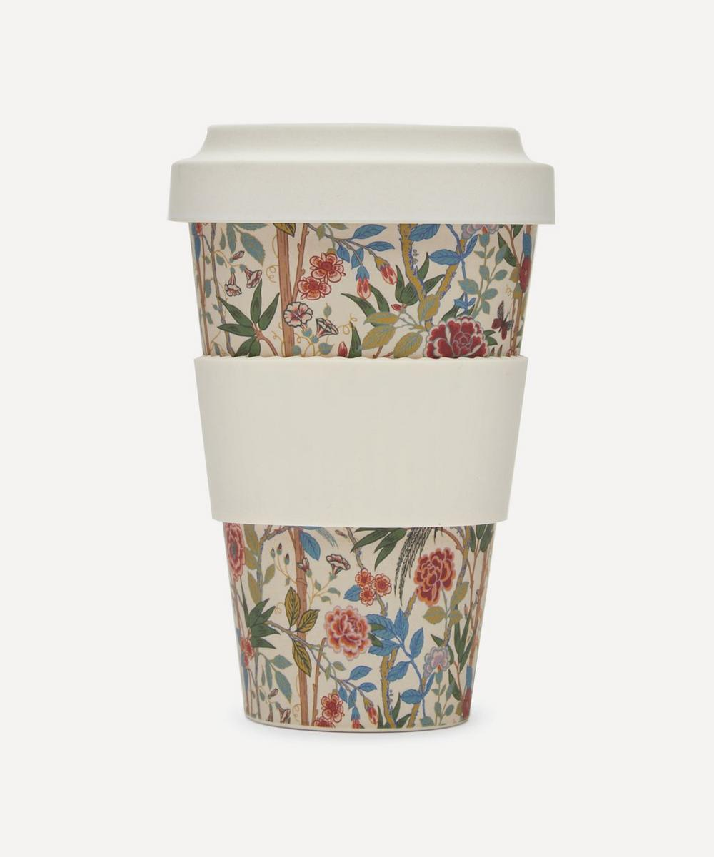 Liberty London - Bamboo Garden Print Bamboo Takeaway Coffee Cup