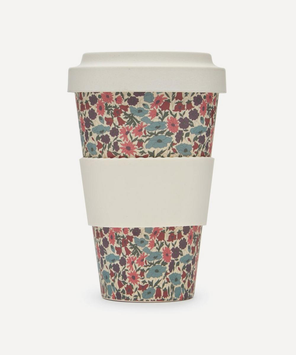 Liberty - Poppy and Daisy Print Bamboo Takeaway Coffee Cup