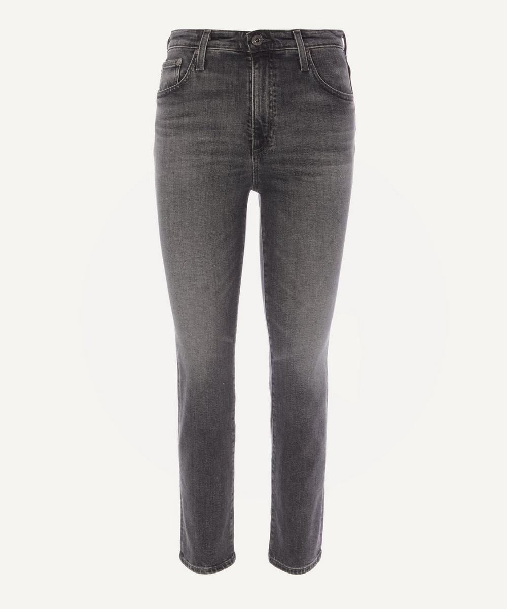 AG Jeans - Isabelle High Rise Straight Crop Jeans