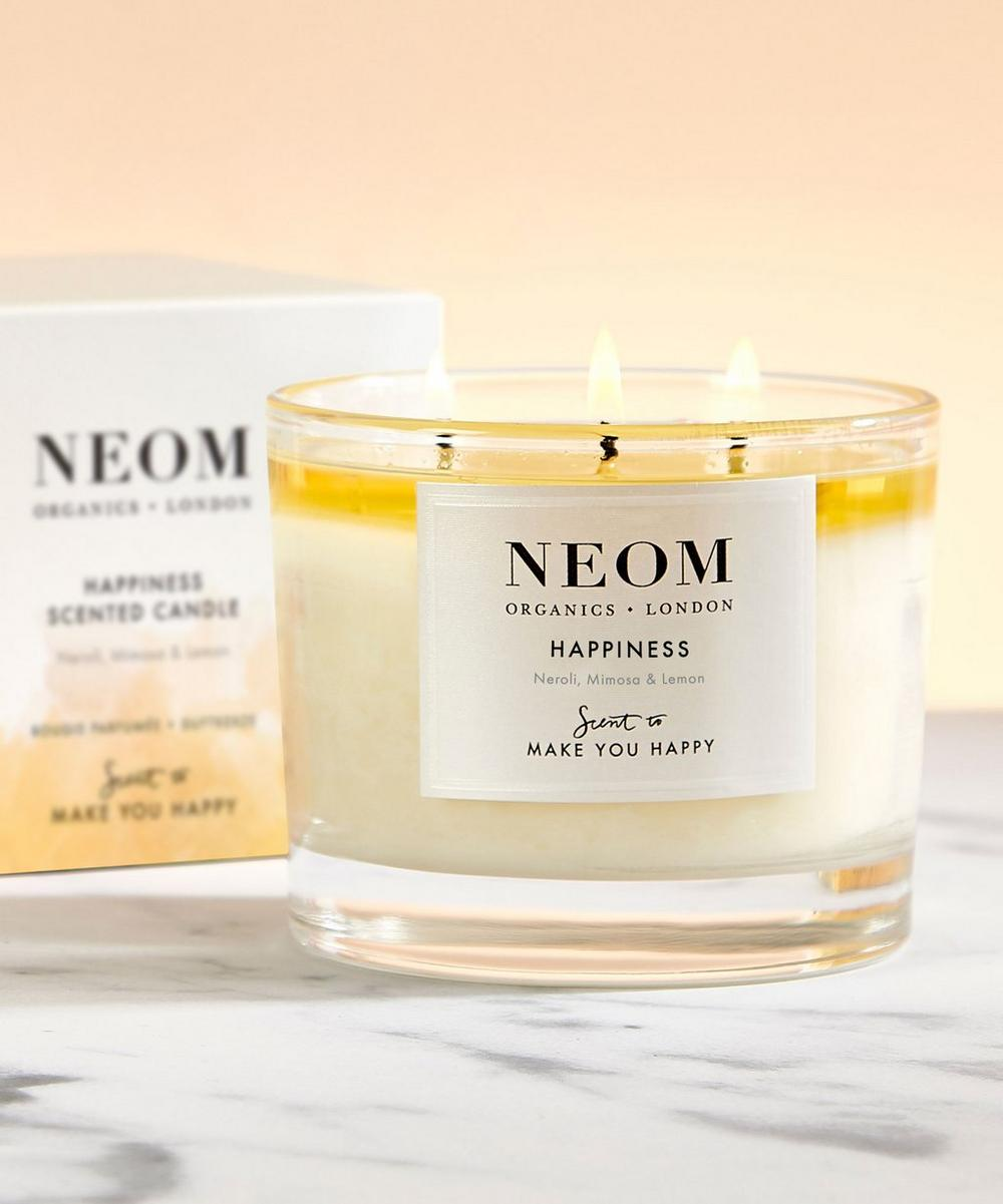 NEOM Organics - Happiness Three-Wick Scented Candle 420g