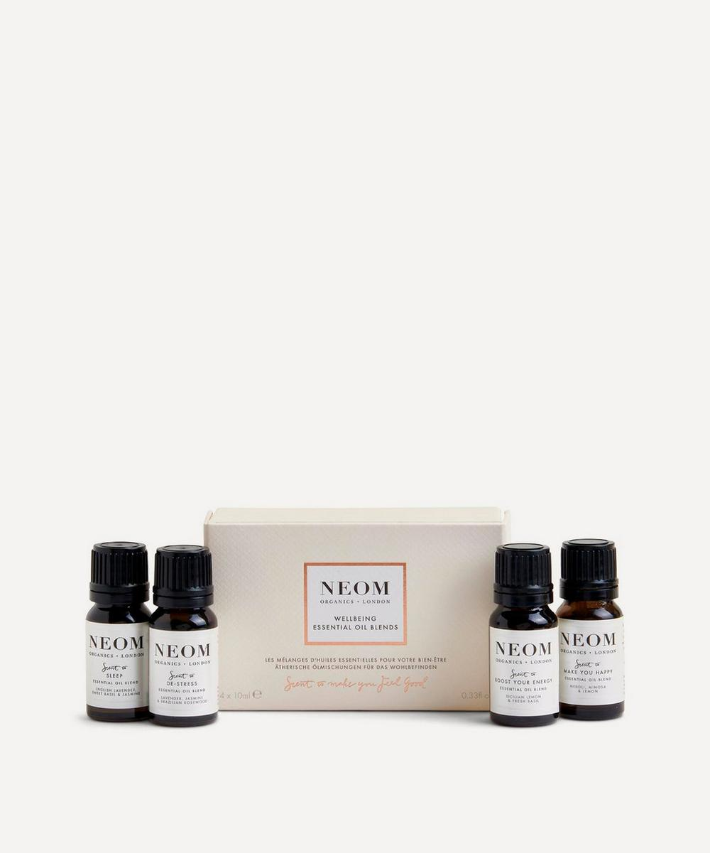 NEOM Organics - Wellbeing Essential Oil Blends x 4