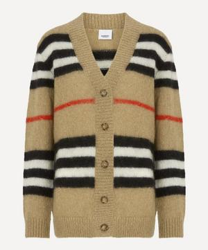 Icon Stripe Mohair Cardigan