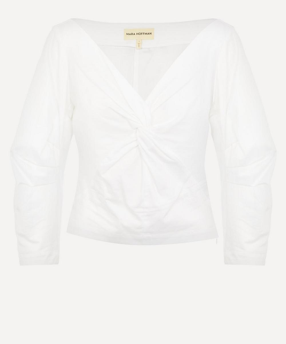 Mara Hoffman - Lela Twist Detail Cotton Top