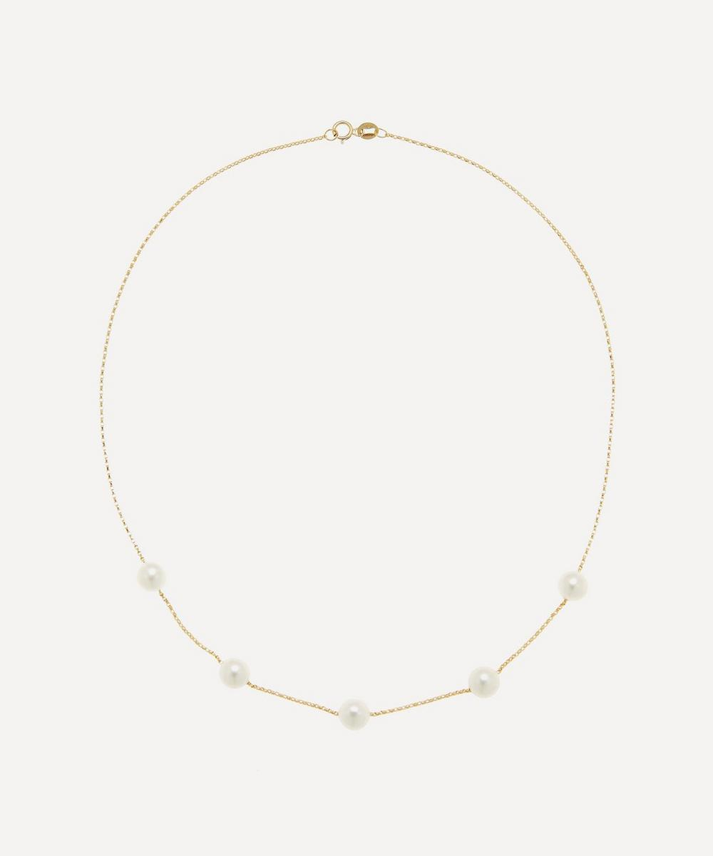 Anissa Kermiche - Gold Frost in May Pearl Necklace
