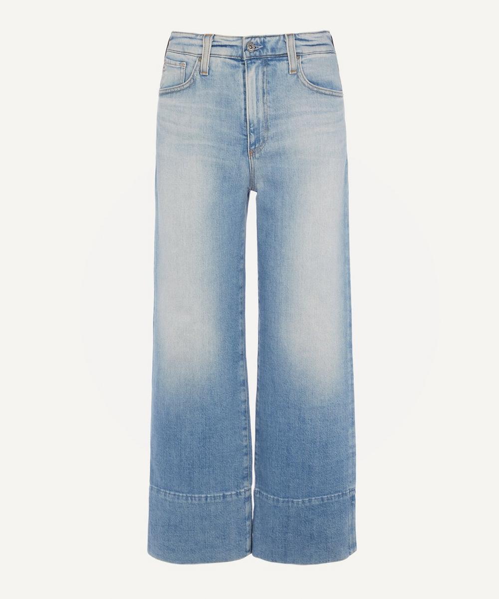 AG Jeans - Etta High-Rise Wide-Leg Jeans