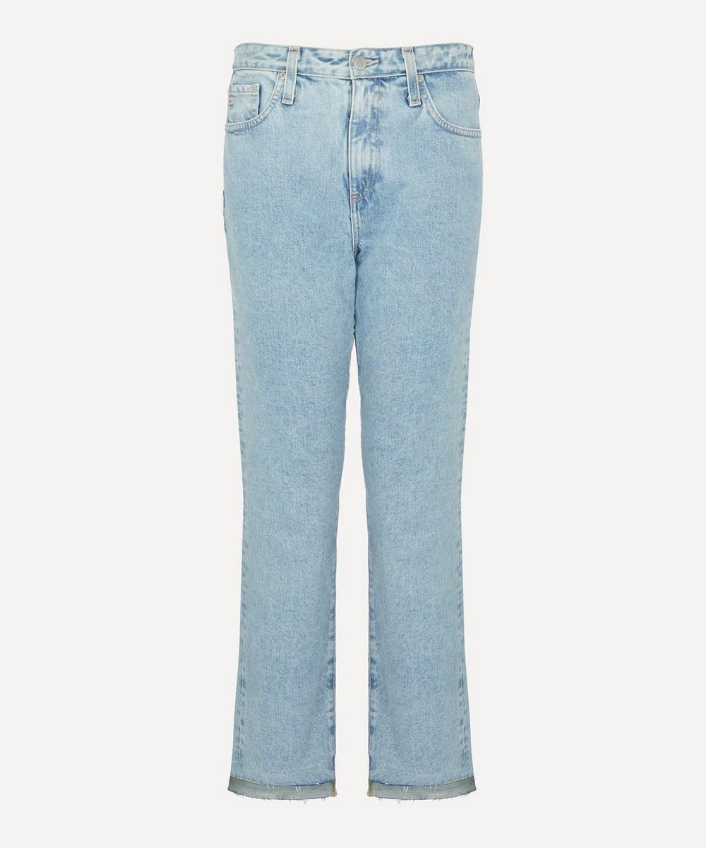 AG Jeans - Isabelle High-Rise Straight Crop Jeans