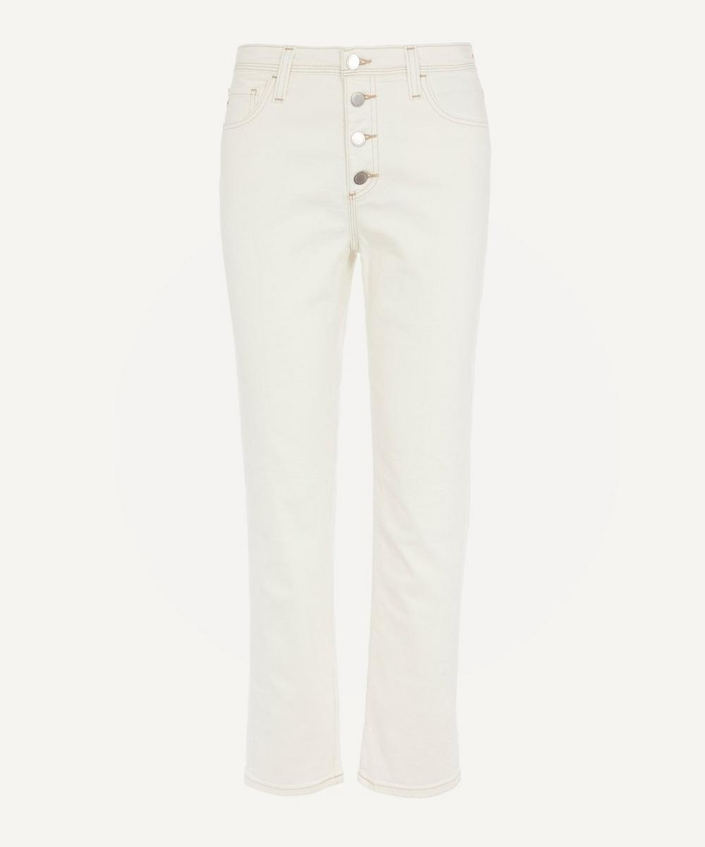 AG Jeans - Isabelle Button-Up Straight-Leg Jeans
