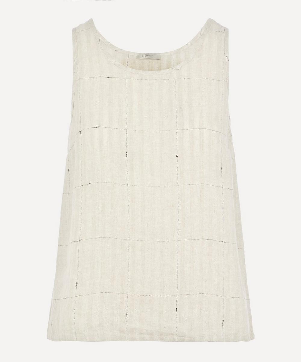 Crea Concept - Linen Grid Vest