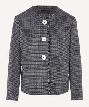 Cropped Button Up Jacket